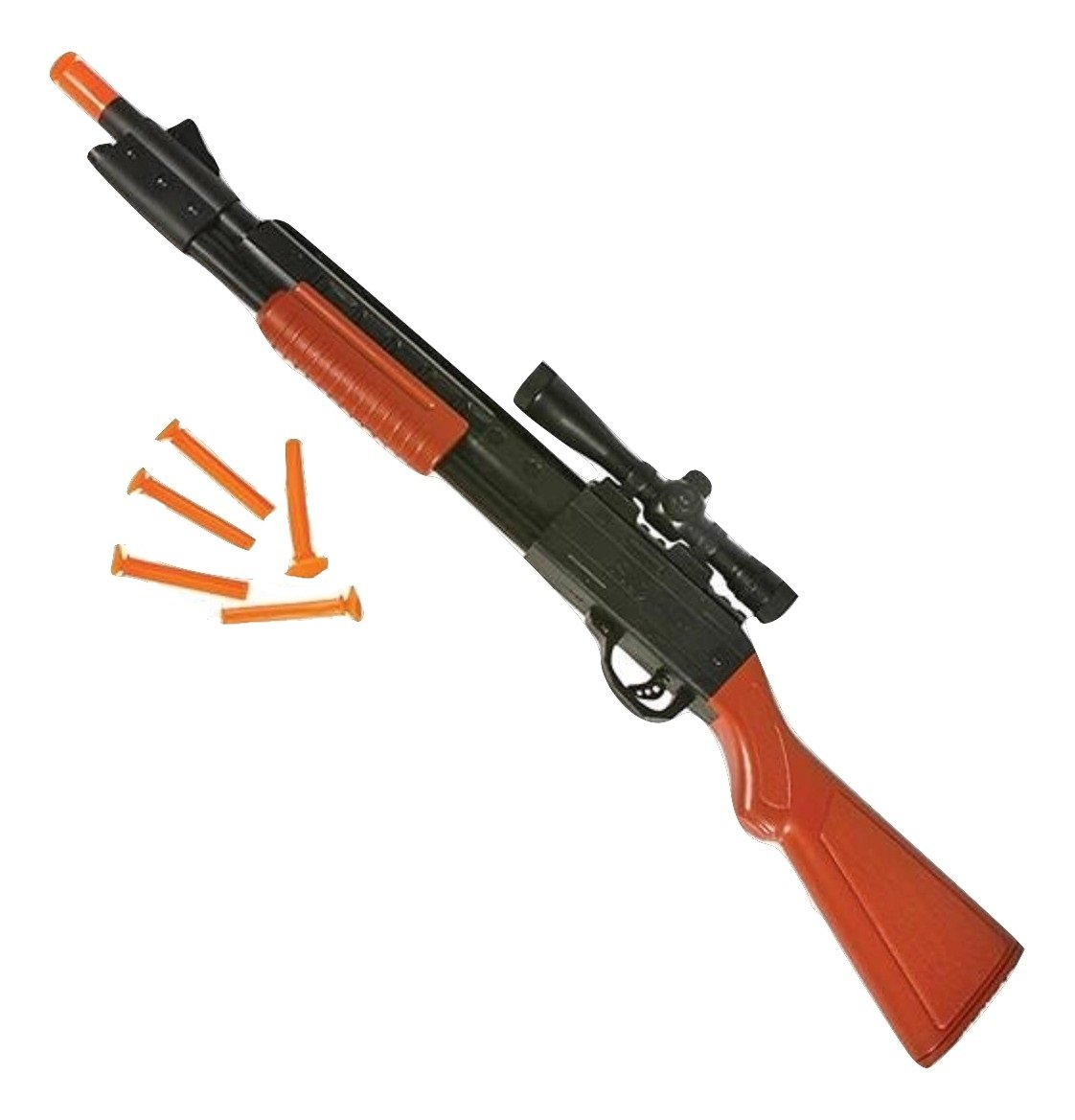 Nicky Bigs Novelties 23 Pump Action Dart Suction Cup Rifle Western Cowboy Toy Shotgun Gun Rhode Island