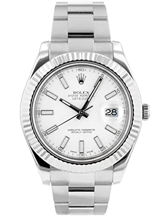 competitive price d8b86 5f722 Amazon | [ロレックス] ROLEX 腕時計 116334 デイトジャストII ...