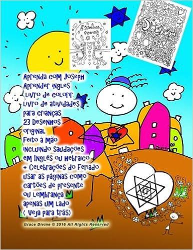 Aprenda Com Joseph Aprender Ingles Livro De Colorir Livro De