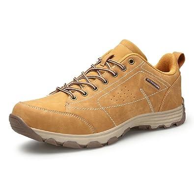 Hombre Zapatillas Trekking, Senderismo Impermeables Verano Deportivas Deporte Zapatos Montaña Running Negro Marrón 39-46 KH46: Amazon.es: Zapatos y ...