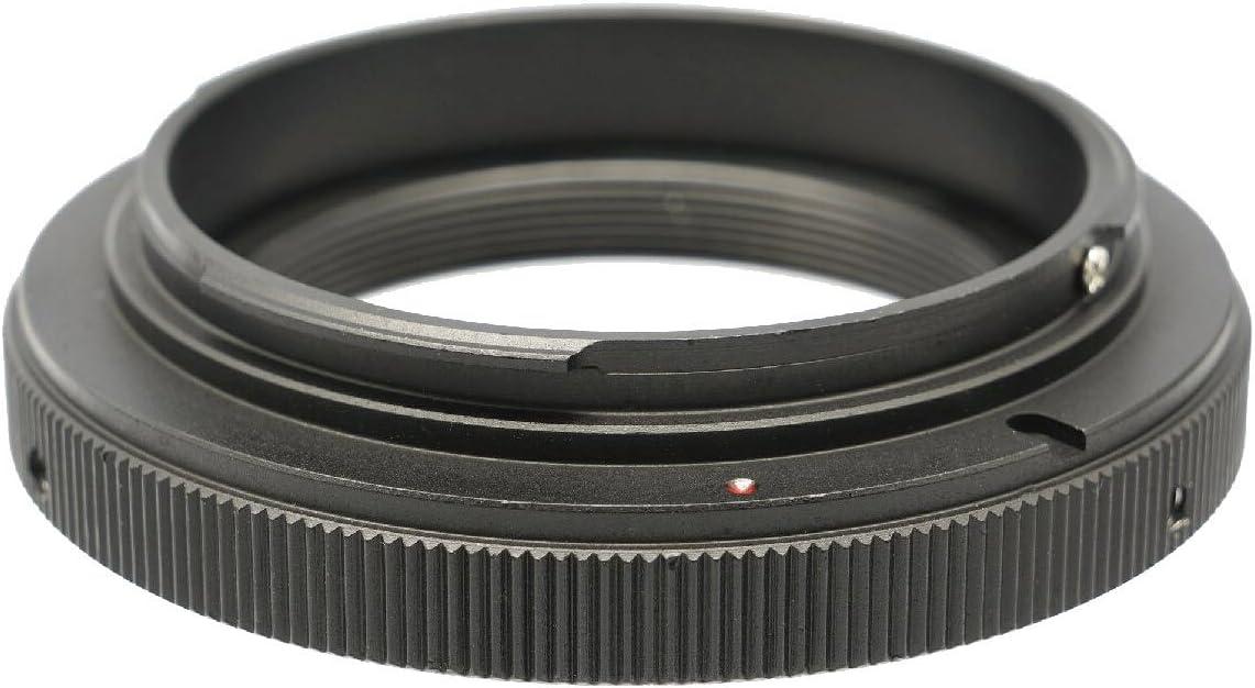 Photo Plus Canon EOS Kiss X50 X6i X5 X4 X3 X2 F Digital X Digital N to T2 Lens Mount Adapter