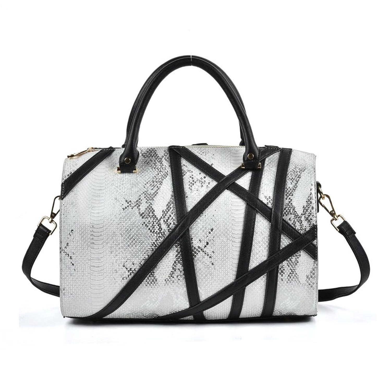 Sally Young Women's PU Leather Shoulder Bags Zipper Handbag Luxury Purse Fashion Cross Body Bag