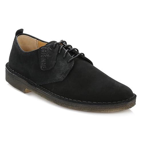 Clarks - Mocasines de cuero para hombre, color negro, talla 46: Amazon.es: Zapatos y complementos