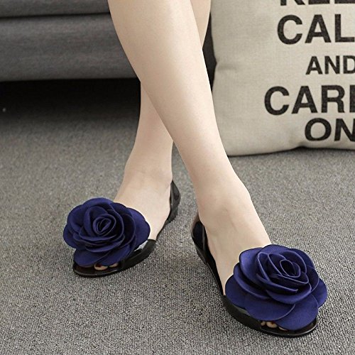 pantofole prodotti Estate LIUXINDA XZ Blue di Nuovi italiana moda qE0FR