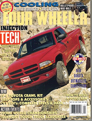 Four Wheeler Magazine, January 1997 (Vol. 34, No. 1)