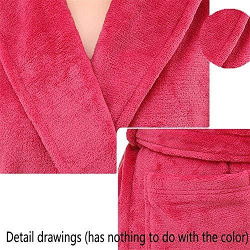 Y Baño A Mujeres Para Casuales Rayas Diseño Algodón De Bata Camisón Mujer Con Pijama XwO8xOq5