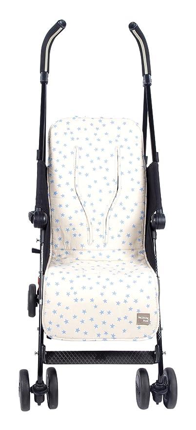 Walking Mum Estrella - Colchoneta para silla de paseo, color beige ...