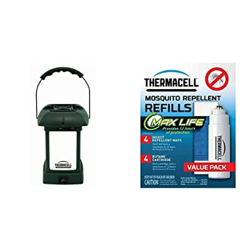 ThermaCELL MR 9L Mosquito Repellent Pest Control Outdoor And Camping  Cordless Lantern W/ Thermacell L