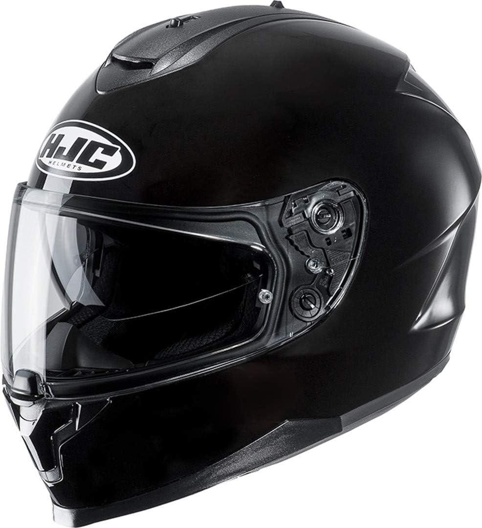 HJC NC Casque Moto Adulte Unisexe Noir XS