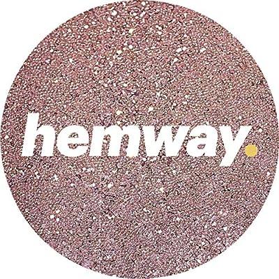 "Hemway SUPER EXTRA CHUNKY Glitter Premium Multi Purpose 1/24"" 0.040"" 1mm 1000microns Dust/Powder 100g/3.5oz Crafts Cosmetic Wine Glass Face Art Nail Skin Festival"