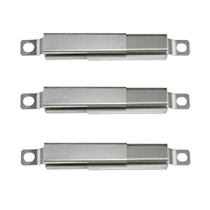 Uniflasy Universal Adjustable Crossover Channel Tubes Replacement Parts for Nexgrill 720-0830h & Charbroil 463241113, 463449914, 463436215, 463244011, Thermos 461442114, Adjusts from 5 to 9.5 Inches