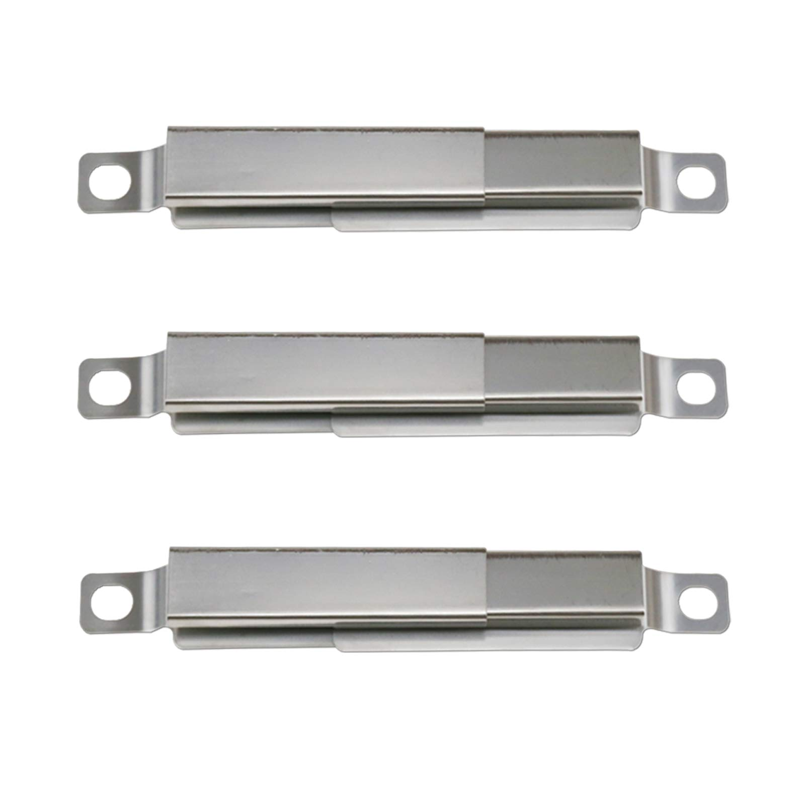 Hisencn BBQ Stainless Burner Tube, Heat Plates Tent Shield, Burner Cover, Adjust Crossover Tube Replacement for BBQ-pro 146.2367631, Kenmore 146.10016510, 146.16198211, 146.16197210 Gas Grill Models by Hisencn (Image #7)