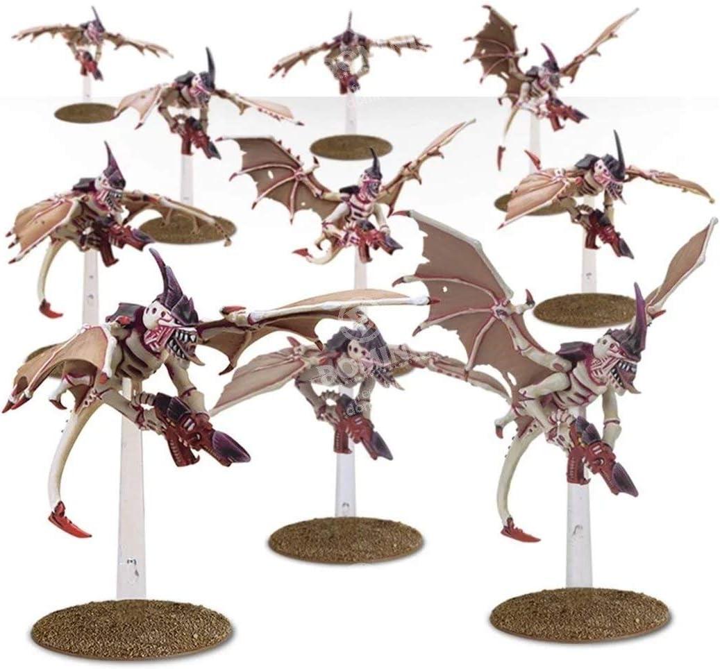 40K Tyranid Gargoyles Complete Tyranids Gargoyle Model Flying Base