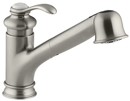 KOHLER KBN Fairfax Single Control Kitchen Sink Faucet - Kohler fairfax single hole bathroom faucet