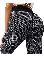 hgni Damskie leginsy w kształcie plastra miodu legginsy wysoka talia damskie gofrowe legginsy gofrowe legginsy antycellulitowe podnoszenie pośladków legginsy dla kobiet odpowiednie na siłownię rodzinną jogę bieganie