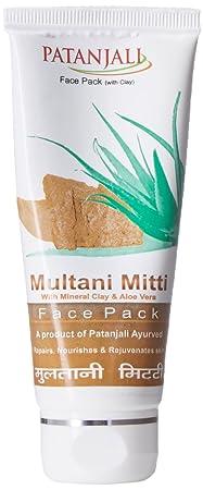 Patanjali Aloevera Multani Mitti Face Pack, 60g
