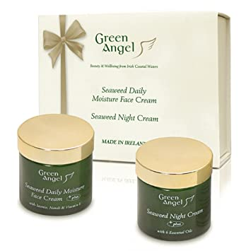 Verde Ángel algas Daily la humedad crema para la cara con jazmín, Neroli y Vitamina E, 50 ml: Amazon.es: Belleza