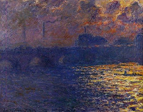 - Claude Oscar Monet Waterloo Bridge, Sunlight Effect Milwaukee Art Museum 30