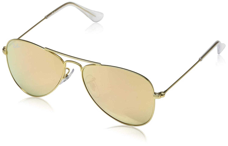 Ray-Ban JUNIOR 0rj9506s Gafas de sol, Matte Gold, 50 Unisex ...