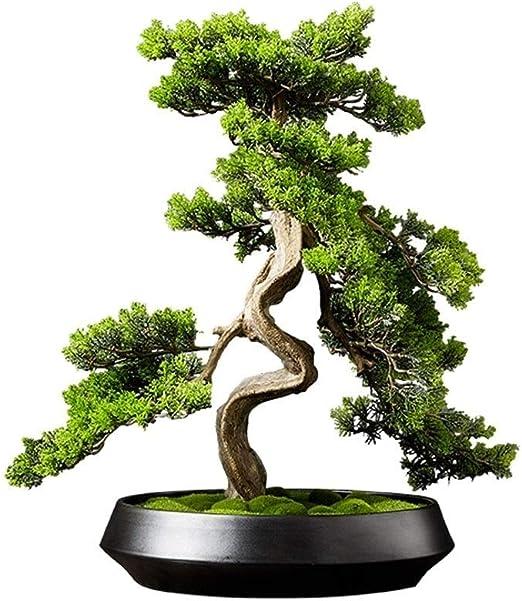 Bonsai Simulation Artificial Pot Plant Home Office Fake Pine Tree Decorations