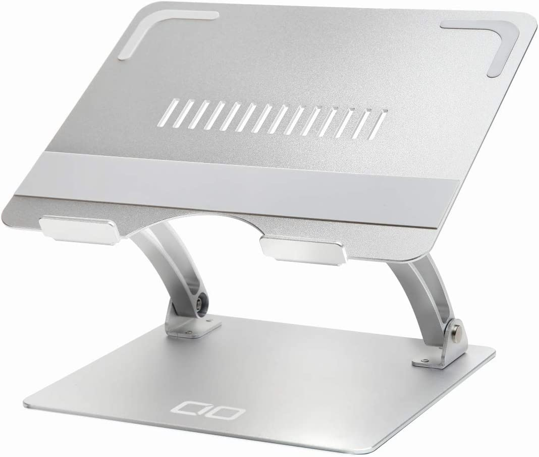 CIO Laptop Stand, Laptop Computer Stand, Alminum Adjustable Ventilated Notebook Stand, Compatible with MacBook Pro Air, iPad Pro, Lenovo, Dell, CIO-PCST-02