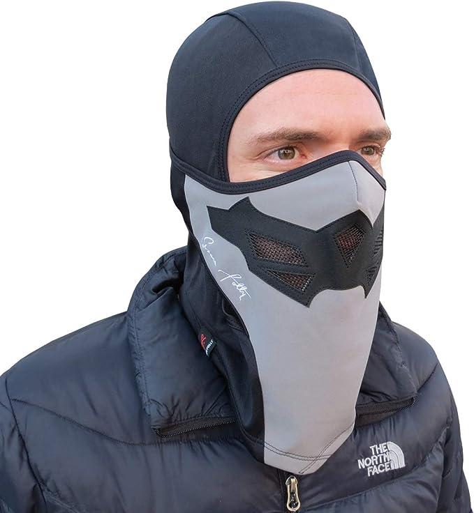 Balaclava Skimaske Gesichtsmaske Für Snowboarding Und Winter Sports Für Kaltes Adult Unisex Schwarz Grau Bekleidung