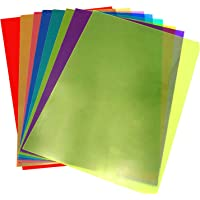 A4 Clear Film Plastic Licht Filter Gel Leeshulp 8 Stks Getinte Pagina Overlays Leeshulp Ondersteuning Dyslexie Verminder…