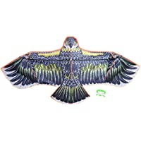 Kartal Uçurtma Fiberglass Çubuklu 3D Kartal Görünümlü Eagle Kuş Desenli Uçurtma 160 cm