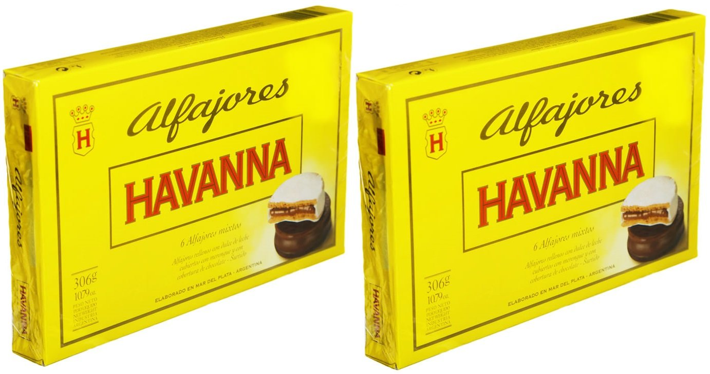 Havanna Alfajores Mix 2 Pack of 6 Alfajores