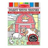 MELISSA & DOUG PAINT WITH WATER FARM ANIMALS (Set of 12)