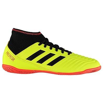 sneakers for cheap bbb28 014c6 adidas Predator Tango 18.3 in J Chaussures de Futsal Mixte Enfant, Jaune  (Amasol