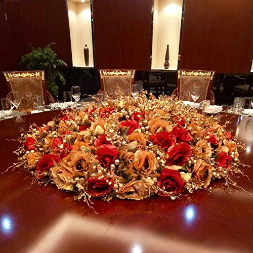 Artificial Flowers Yiting Table rose European-style flowers, 60CM by Yiting