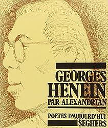 Georges Henein (Poêtes daujourdhui)