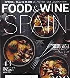 img - for Food & Wine, september 2017, Spain, 43 must-try spanish wines, 298 reasons to go now,and various book / textbook / text book
