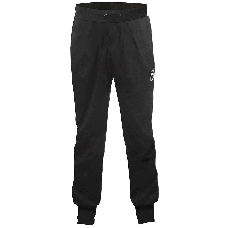 Luanvi Everest Pantaloni, Uomo, 10303_0044M, Nero, M