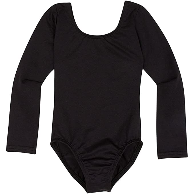 c1fd134c60f7 Amazon.com  Leotard Boutique Long Sleeve Leotard for Dance ...