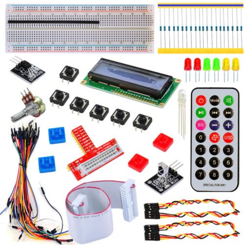 ContempoViews Intermediate Starter Kit para Raspberry Pi B + 2 & 3 RPi Learning Kit 1210