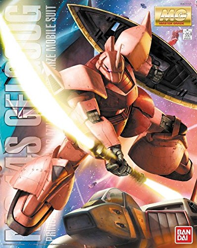 (Bandai Hobby MS-14S Char S GELGOOG Ver 2.0, Bandai Master Grade Action Figure)