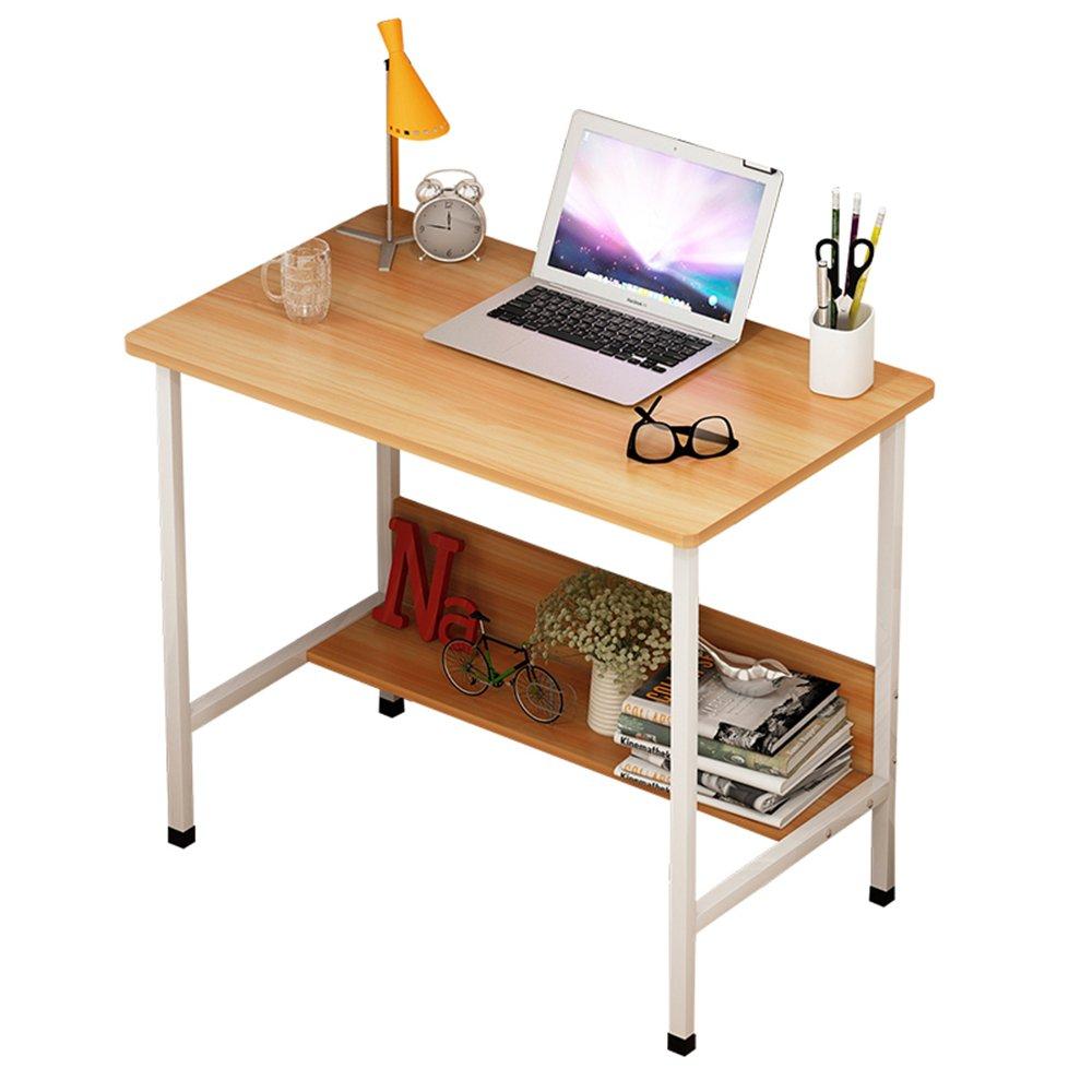 FEIFEI ホームオフィス用コンピュータデスクオフィススタディデスクワークステーションゲームテーブル (色 : 木の色, サイズ さいず : 120*50*72CM) B07F6BL72F 120*50*72CM|木の色 木の色 120*50*72CM