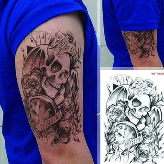 Zhuhuimin 5 Unidades/Set Cool Boy Cuerpo Brazo Manga Tatuaje Moda ...