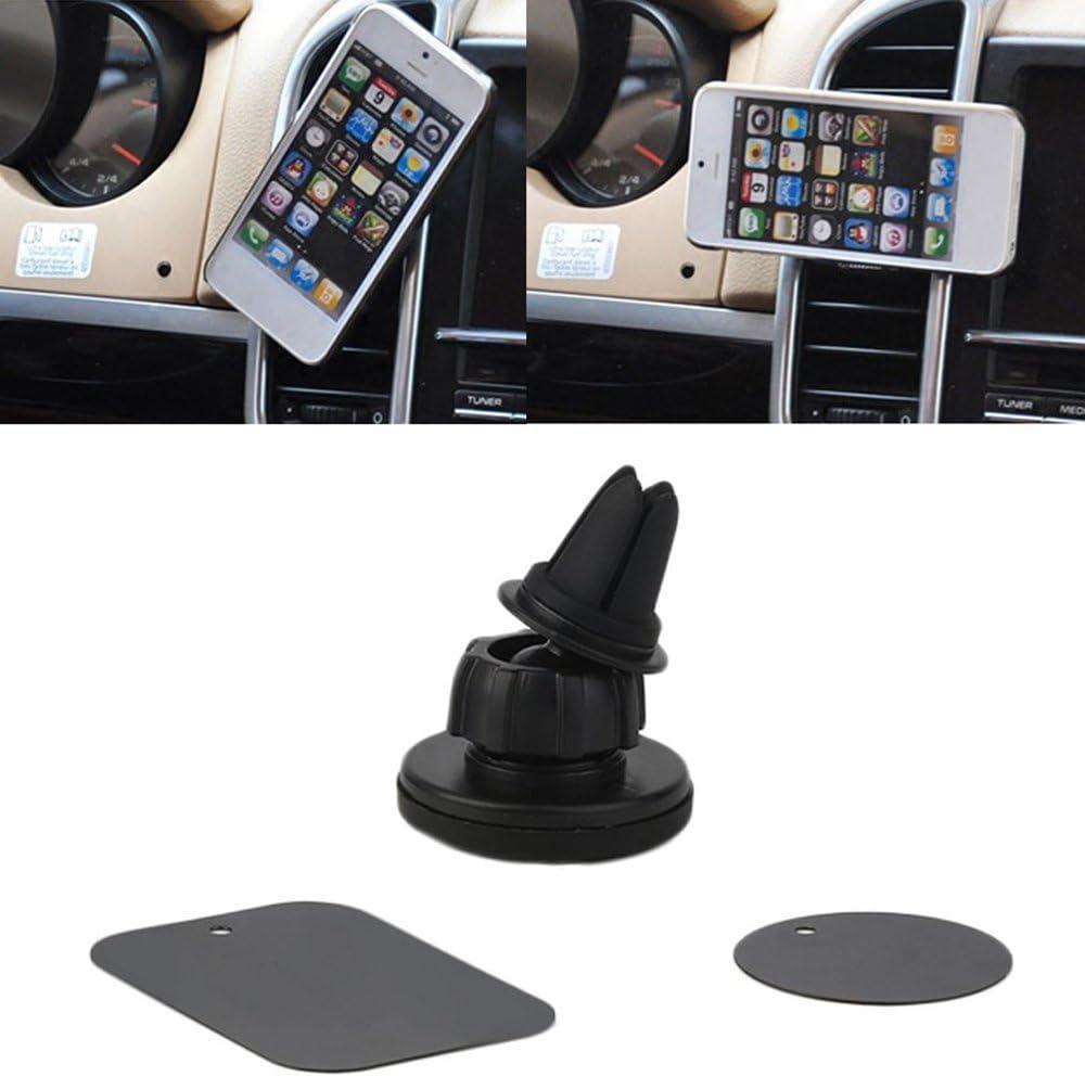 Mandalaa Auto Car Holder Mini Air Vent Outlet Mount Magnet Magnetic Phone Mobile Holder Universal for iPhone for Samsung Car Holder , Mobile Phone Holder Mount T