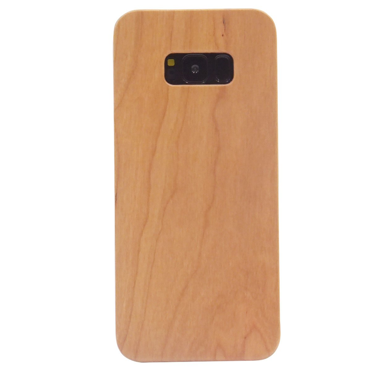 huge discount e72e2 2483d Samsung S8 Plus Case Wood Grain , Blue Hole 6.2 inch Real Wood Phone Case  Bumper with PC Dual Layer Protect Cover Case for Samsung Galaxy S8 Plus -  ...