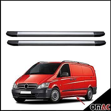 Schwellerrohre Aluminium Trittbretter Mercedes Vito W639 2003-2014 Omberg