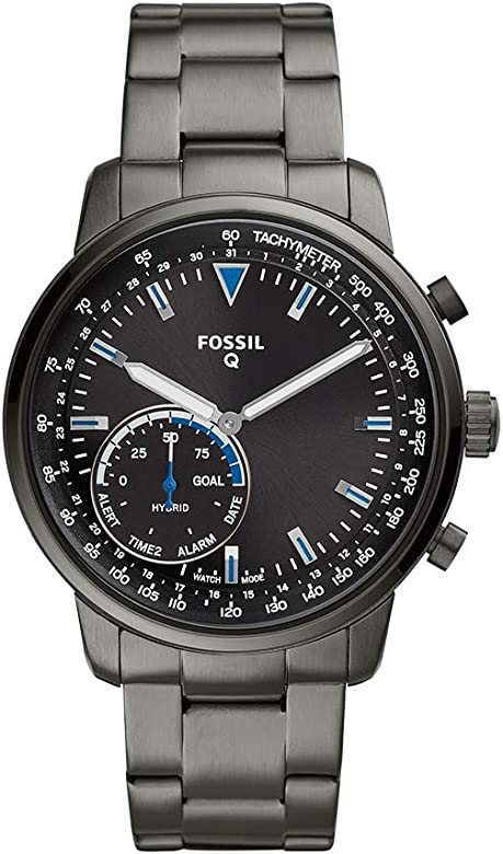 Amazon.com: Fossil Mens Hybrid Smartwatch Watch with ...