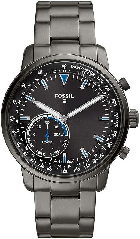 Amazon.com: Fossil Mens Hybrid Smartwatch Watch with ...
