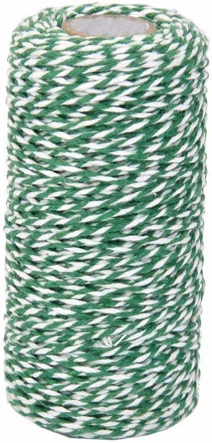 Cordón de algodón para regalo, 100 m, cuerda de algodón para ...