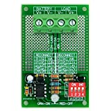 Electronics-Salon Low Voltage Disconnect Module LVD, 12V 30Amp, Based on MCU and MOSFET.