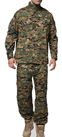 best shoes new high quality get new US Military Army Marines thicket digital Camouflage Uniforms