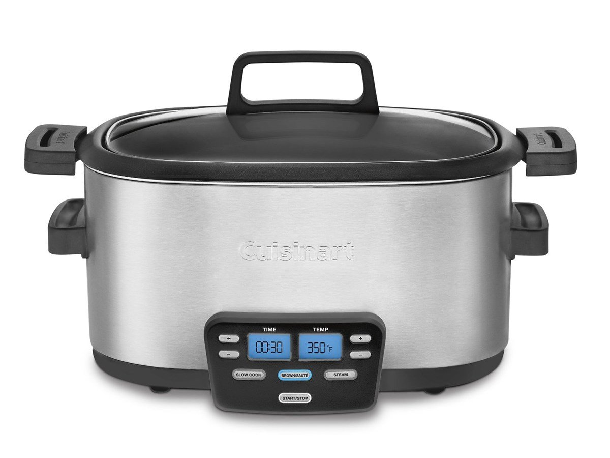 Cuisinart MSC-600 3-In-1 Cook Central 6-Quart Multi-Cooker: Slow Cooker, Brown/Saute, Steamer by Cuisinart