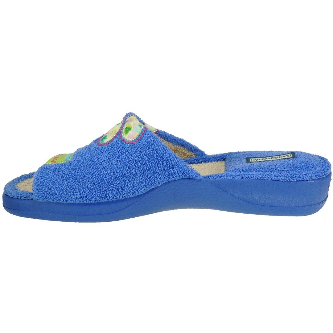 DeValverde. Pinki de IR por Casa en Rizo Maceta para Mujer - Modelo 168, Color AGUAMAR, Talla 41: Amazon.es: Zapatos y complementos